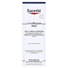 EUCERIN UreaRepair PLUS Lotion 10% + gratis EUCERIN UreaRepair PLUS Handcreme 5% 250 Milliliter - Vorderseite