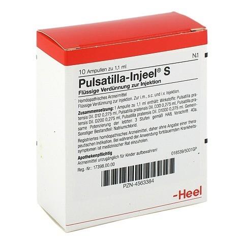PULSATILLA INJEEL S Ampullen 10 Stück N1