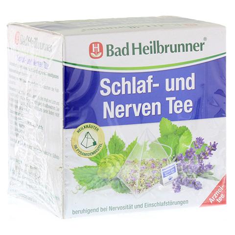 BAD HEILBRUNNER Tee Schlaf- und Nerven Pyram.btl. 15 Stück