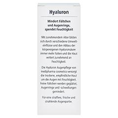 HYALURON Augenpflege Creme 15 Milliliter - Rückseite