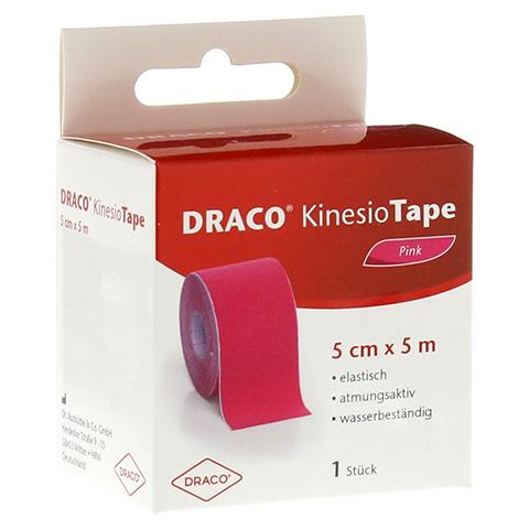 DRACO KINESIOTAPE 5 cmx5 m pink 1 Stück
