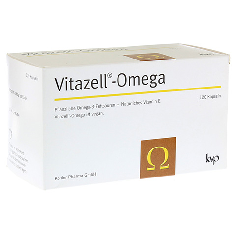 VITAZELL-Omega Kapseln 120 St�ck