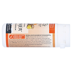INGWER GINJER Kaugummi 30 Gramm - Linke Seite