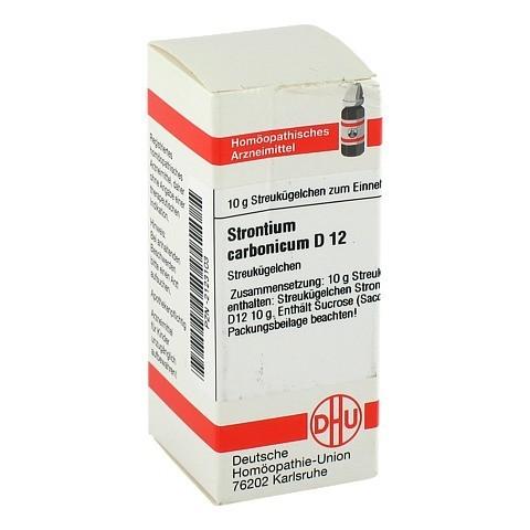 STRONTIUM CARBONICUM D 12 Globuli 10 Gramm N1
