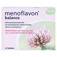 MENOFLAVON Balance Tabletten 30 Stück - Vorderseite