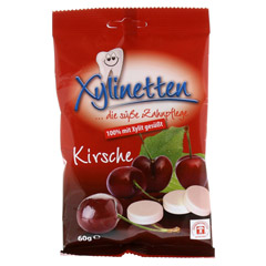 XYLINETTEN Kirsche Bonbons 60 Gramm