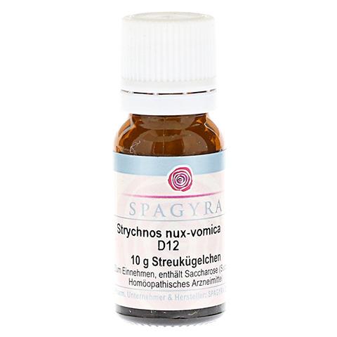 STRYCHNOS nux-vomica D 12 Globuli 10 Gramm