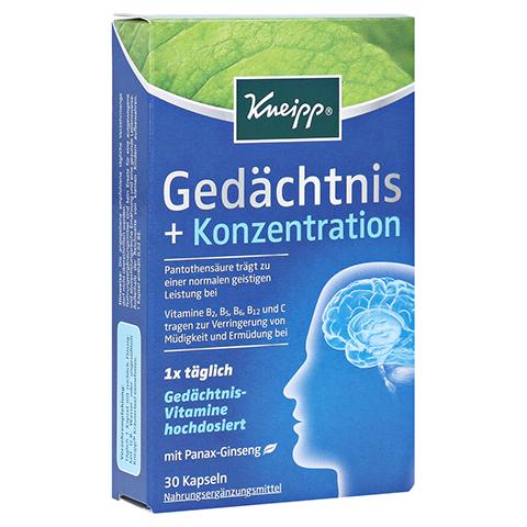 KNEIPP Gedächtnis+Konzentration Kapseln 30 Stück