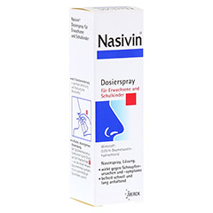 Nasivin Dosierspray f�r Erwachsene und Schulkinder 0,05% 10 Milliliter N1