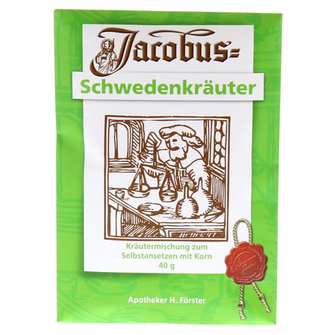 JACOBUS Schwedenkr�uter Pulver 40 Gramm