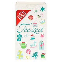 H&S Adventskalender Teezeit Filterbeutel 24 Stück - Vorderseite