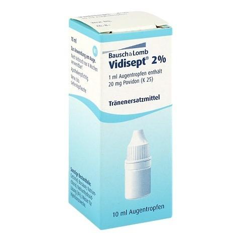 VIDISEPT 2% Augentropfen 10 Milliliter