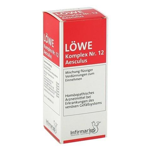 L�WE KOMPLEX Nr.12 Aesculus Tropfen 100 Milliliter N2