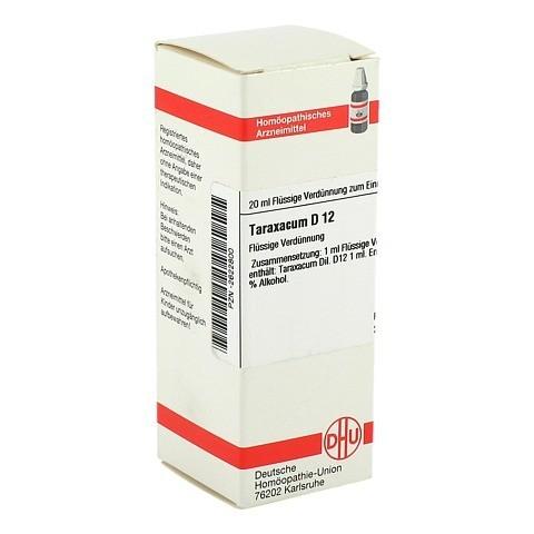TARAXACUM D 12 Dilution 20 Milliliter N1
