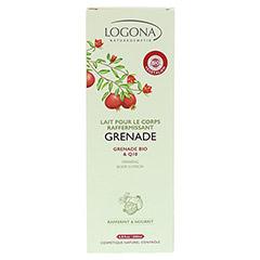 LOGONA straffende K�rperlotion Granatapfel & Q10 200 Milliliter - R�ckseite