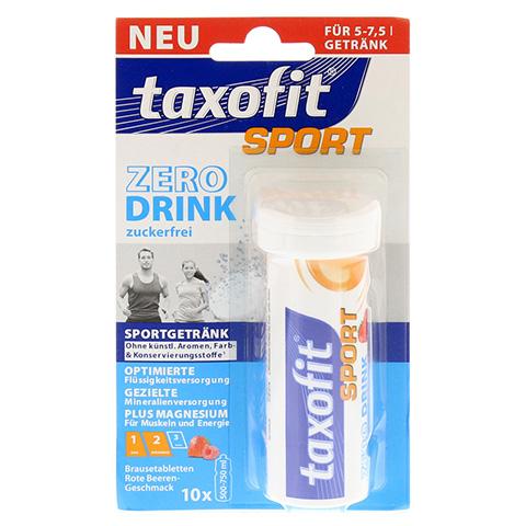 TAXOFIT Sport Zero Drink rote Beeren Brausetabl. 10 St�ck