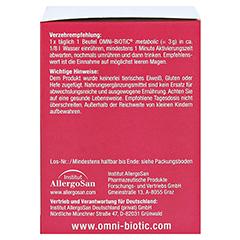 OMNI BiOTiC metabolic Probiotikum Beutel 30x3 Gramm - Rechte Seite