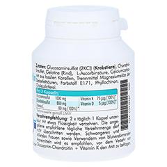 GLUCOSAMIN-Chondroitin+Vitamin K Kapseln 90 St�ck - Linke Seite