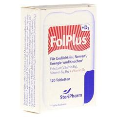 FOLPLUS+D3 Filmtabletten 120 St�ck