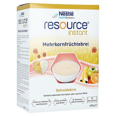 RESOURCE Mehrkorn Früchtebrei 600 Gramm