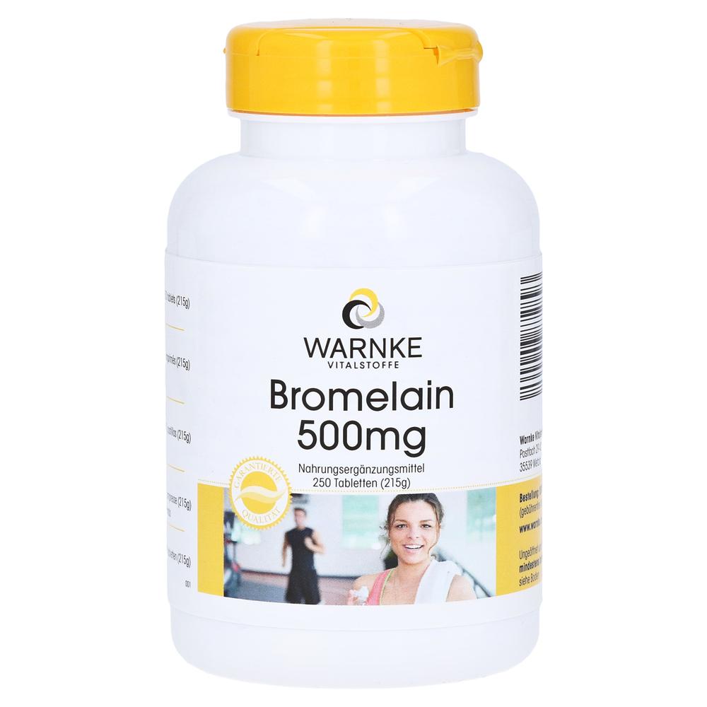 bromelain 500 mg tabletten 250 st ck online bestellen medpex versandapotheke. Black Bedroom Furniture Sets. Home Design Ideas