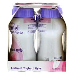 FORTIMEL Yoghurt Style Himbeergeschmack 4x200 Milliliter - Linke Seite