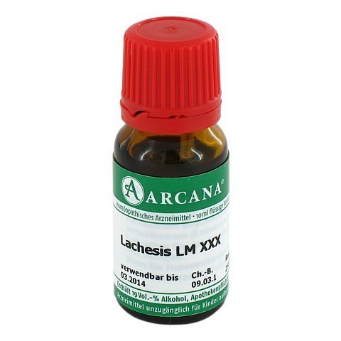 LACHESIS Arcana LM 30 Dilution 10 Milliliter N1