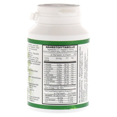 MORINGA oleifera Bio Kapseln 120 St�ck - R�ckseite