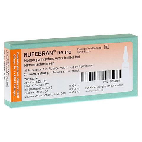 RUFEBRAN neuro Ampullen 10 Stück N1