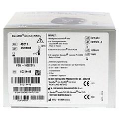 GLUCOMEN areo Blutzuckermessgerät Set mmol/l 1 Stück - Unterseite