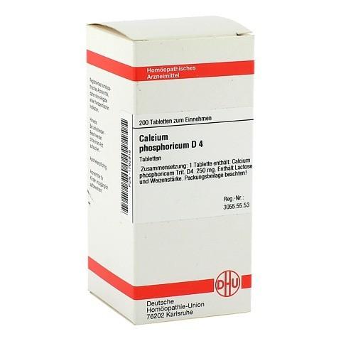 CALCIUM PHOSPHORICUM D 4 Tabletten 200 St�ck N2