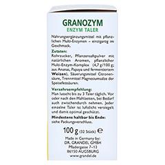GRANOZYM Enzym Taler Grandel 32 St�ck - Rechte Seite