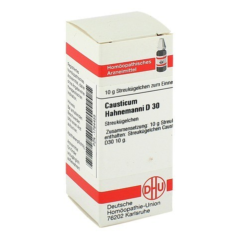 CAUSTICUM HAHNEMANNI D 30 Globuli 10 Gramm N1