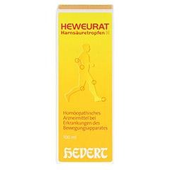 Heweurat Harnsäuretropfen N 100 Milliliter N2 - Vorderseite