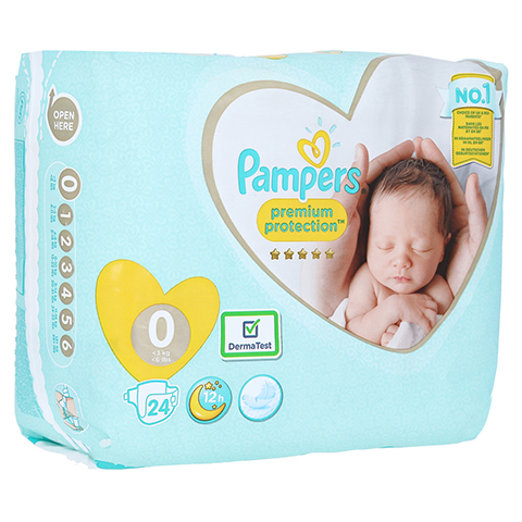 PAMPERS micro 24 St�ck