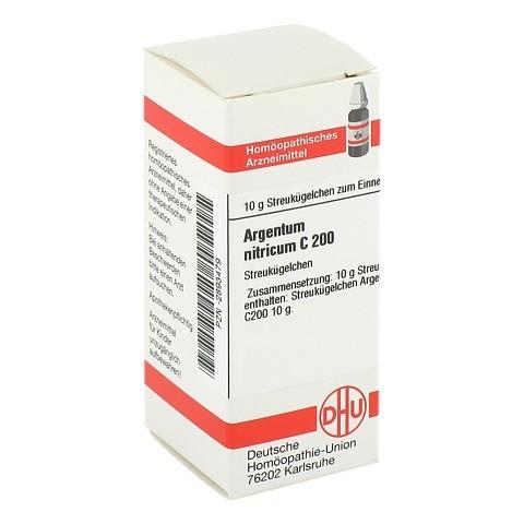 ARGENTUM NITRICUM C 200 Globuli 10 Gramm N1