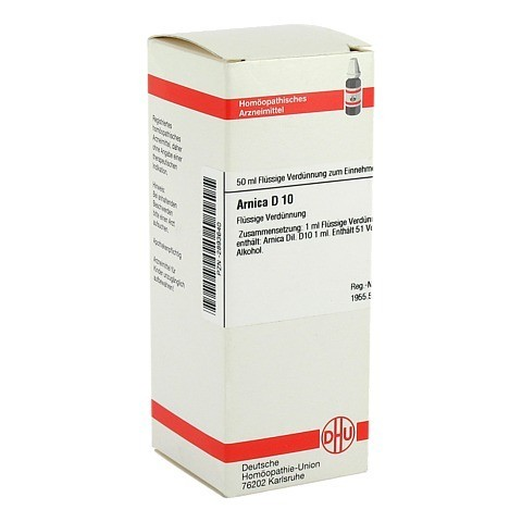 ARNICA D 10 Dilution 50 Milliliter N1