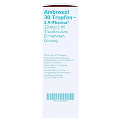 Ambroxol 30 Tropfen-1A Pharma 50 Milliliter N2 - Rechte Seite