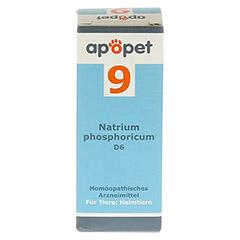 APOPET Schüßler-Salz Nr.9 Natrium phos.D 6 vet. 12 Gramm - Rückseite