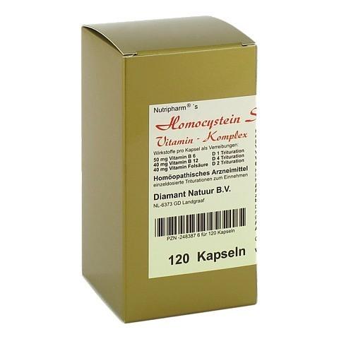 HOMOCYSTEIN Stoffwechsel-Vitamin-Komplex Kapseln 120 Stück N1