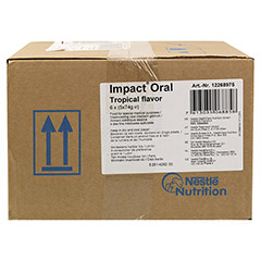 ORAL IMPACT Tropic 5x74 g Pulver 6 St�ck - Vorderseite