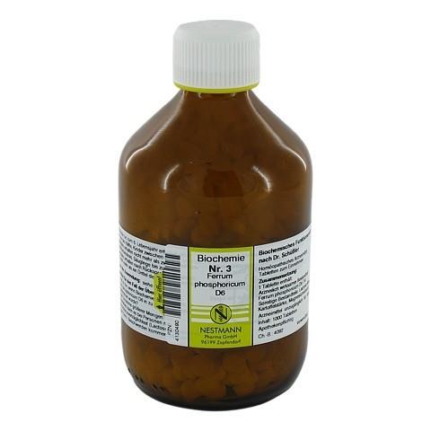 BIOCHEMIE 3 Ferrum phosphoricum D 6 Tabletten 1000 Stück