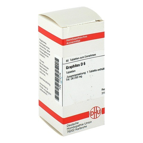 GRAPHITES D 6 Tabletten 80 St�ck N1