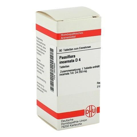 PASSIFLORA INCARNATA D 4 Tabletten 80 St�ck N1