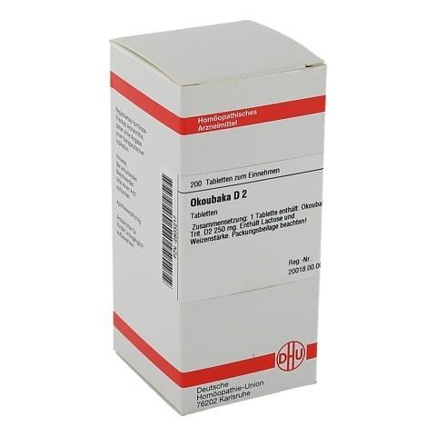 OKOUBAKA D 2 Tabletten 200 St�ck N2