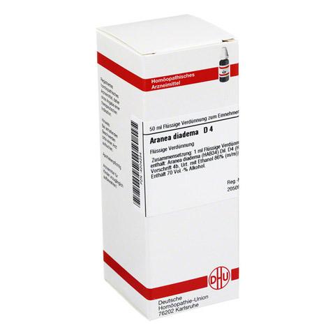 ARANEA DIADEMA D 4 Dilution 50 Milliliter N1