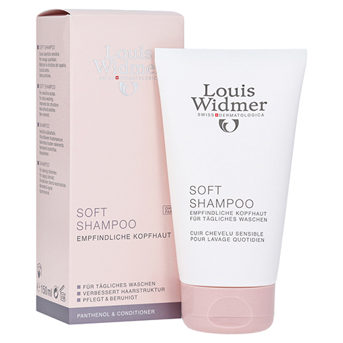 WIDMER Soft Shampoo+Panthenol unparfümiert 150 Milliliter