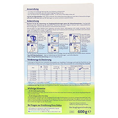 HIPP Pre Bio Combiotik Pulver 2060 600 Gramm - R�ckseite