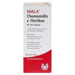 CHAMOMILLA E FLOR. W 10% Oleum 100 Milliliter - Rückseite