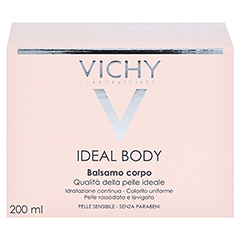 VICHY IDEAL Body Balsam + gratis VICHY IDEALIA Creme für normale Haut 200 Milliliter - Rückseite